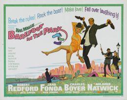 """Постер к фильму """"Босиком по парку"""" /Barefoot in the Park/ (1967)"""