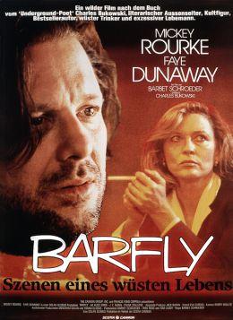 """Постер к фильму """"Пьянь"""" /Barfly/ (1987)"""