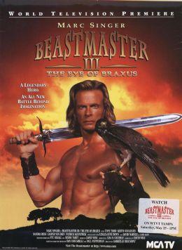 "Постер к фильму ""Повелитель зверей 3: Глаз Браксуса"" /Beastmaster III: The Eye of Braxus/ (1996)"