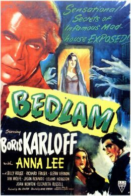 """Постер к фильму """"Бедлам"""" /Bedlam/ (1946)"""