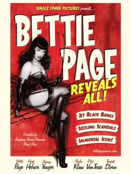 "Постер к фильму ""Bettie Page Reveals All"" /Bettie Page Reveals All/ (2012)"