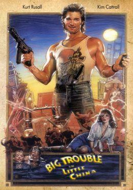 """Постер к фильму """"Большой переполох в Маленьком Китае"""" /Big Trouble in Little China/ (1986)"""