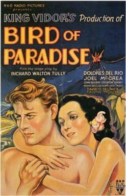 """Постер к фильму """"Райская птица"""" /Bird of Paradise/ (1932)"""