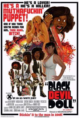 """Постер к фильму """"Черная дьявольская кукла"""" /Black Devil Doll/ (2007)"""