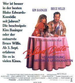 """Постер к фильму """"Свидание вслепую"""" /Blind Date/ (1987)"""