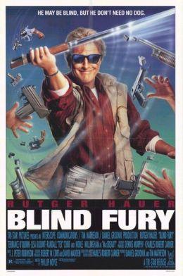 """Постер к фильму """"Слепая ярость"""" /Blind Fury/ (1989)"""