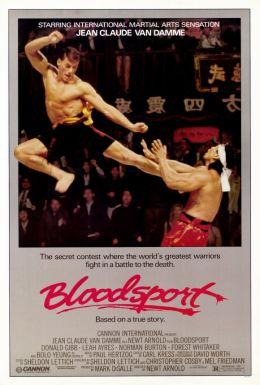 """Постер к фильму """"Кровавый спорт"""" /Bloodsport/ (1988)"""