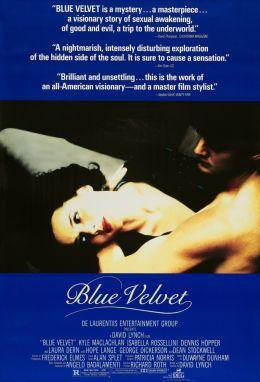 "Постер к фильму ""Синий бархат"" /Blue Velvet/ (1986)"