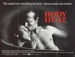 "Постер к фильму ""Жар тела"" /Body Heat/ (1981)"