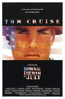 """Постер к фильму """"Рожденный четвертого июля"""" /Born on the Fourth of July/ (1989)"""