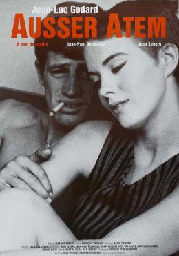 """Постер к фильму """"На последнем дыхании"""" /A bout de souffle/ (1960)"""