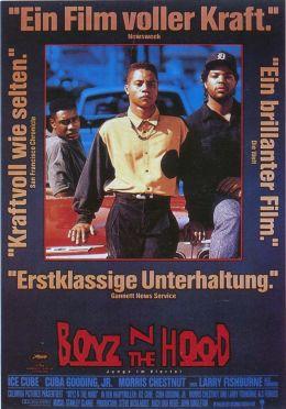 """Постер к фильму """"Ребята с улицы"""" /Boyz n the Hood/ (1991)"""