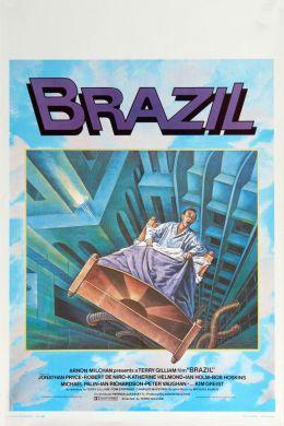 """Постер к фильму """"Бразилия"""" /Brazil/ (1985)"""