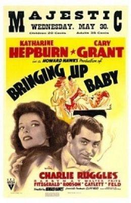 """Постер к фильму """"Воспитание крошки"""" /Bringing Up Baby/ (1938)"""