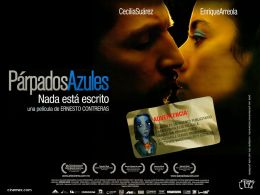 """Постер к фильму """"Голубые веки"""" /Parpados azules/ (2007)"""