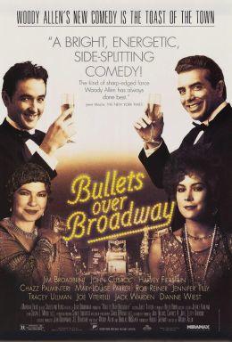 """Постер к фильму """"Пули над бродвеем"""" /Bullets Over Broadway/ (1994)"""