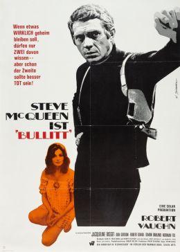"""Постер к фильму """"Буллитт"""" /Bullitt/ (1968)"""