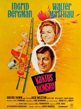 """Постер к фильму """"Цветок кактуса"""" /Cactus Flower/ (1969)"""