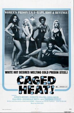 """Постер к фильму """"Страсть за решеткой"""" /Caged Heat/ (1974)"""