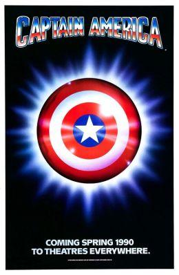 "Постер к фильму ""Капитан Америка"" /Captain America/ (1990)"