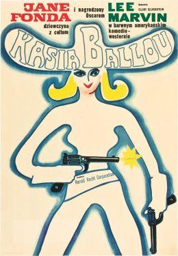 """Постер к фильму """"Кошка Балу"""" /Cat Ballou/ (1965)"""