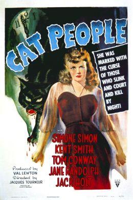 """Постер к фильму """"Люди-кошки"""" /Cat People/ (1942)"""