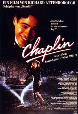 "Постер к фильму ""Чаплин"" /Chaplin/ (1992)"