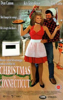 """Постер к фильму """"Рождество в Коннектикуте"""" /Christmas in Connecticut (1992)/ (1992)"""