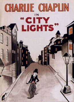 """Постер к фильму """"Огни большого города"""" /City Lights/ (1931)"""