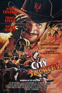 """Постер к фильму """"Городские пижоны"""" /City Slickers/ (1991)"""