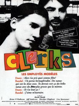 """Постер к фильму """"Клерки"""" /Clerks/ (1994)"""