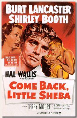 """Постер к фильму """"Вернись, малышка Шеба"""" /Come Back, Little Sheba/ (1952)"""