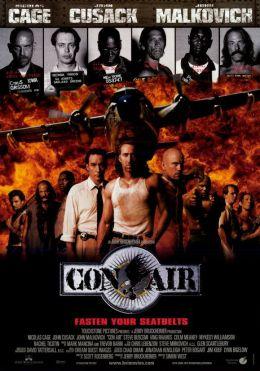 """Постер к фильму """"Воздушная тюрьма"""" /Con Air/ (1997)"""