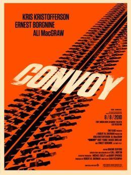 """Постер к фильму """"Конвой"""" /Convoy/ (1978)"""