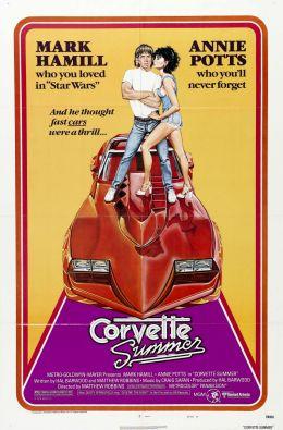 """Постер к фильму """"Лето в поисках «Корвета»"""" /Corvette Summer/ (1978)"""