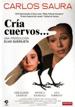 """Постер к фильму """"Выкорми ворона"""" /Cria cuervos/ (1976)"""