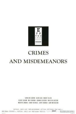 """Постер к фильму """"Преступления и проступки"""" /Crimes and Misdemeanors/ (1989)"""