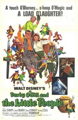 """Постер к фильму """"Дарби О'Гилл и маленький народ"""" /Darby O'Gill and the Little People/ (1959)"""