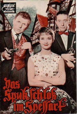 """Постер к фильму """"Привидения в замке Шпессарт"""" /Das Spukschlos im Spessart/ (1960)"""