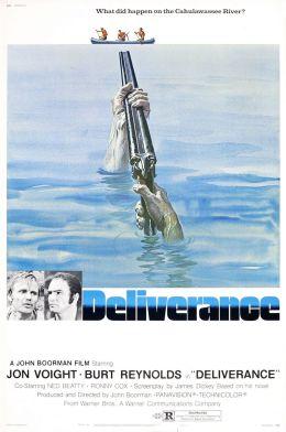 """Постер к фильму """"Избавление"""" /Deliverance/ (1972)"""