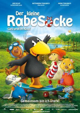 """Постер к фильму """"Ворона - маленькая мошенница"""" /Der kleine Rabe Socke/ (2012)"""