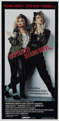 """Постер к фильму """"Отчаянно ищу Сьюзан"""" /Desperately Seeking Susan/ (1985)"""