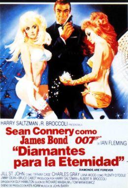 "Постер к фильму ""Бриллианты навсегда"" /Diamonds Are Forever/ (1971)"