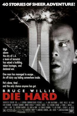 """Постер к фильму """"Крепкий орешек"""" /Die Hard/ (1988)"""