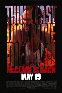"""Постер к фильму """"Крепкий орешек 3: Возмездие"""" /Die Hard: With a Vengeance/ (1995)"""