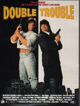 """Постер к фильму """"Двойные неприятности"""" /Double Trouble/ (1992)"""