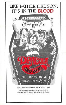 """Постер к фильму """"Дракула – отец и сын"""" /Dracula pere et fils/ (1976)"""