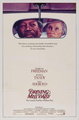 """Постер к фильму """"Шофер мисс Дэйзи"""" /Driving Miss Daisy/ (1989)"""