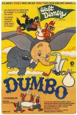"""Постер к фильму """"Дамбо"""" /Dumbo/ (1941)"""