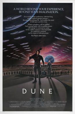 """Постер к фильму """"Дюна"""" /Dune/ (1984)"""